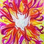 Dancing Dove - Pentecost 2013